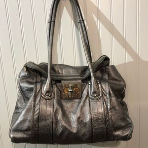 RARE B. Makowsky 100% LEATHER TOTE